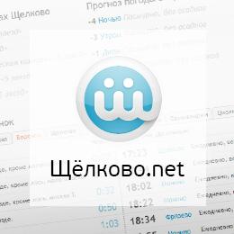 Сайт города Щёлково.net
