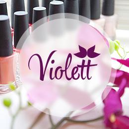 Дизайн сайта cтудии красоты «Violett»